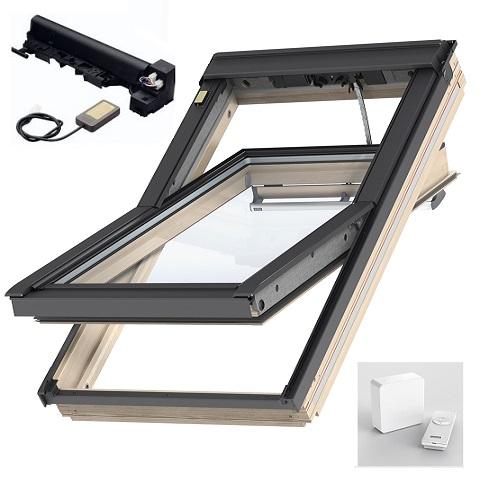 dachfenster velux aus holz Elektrisch betrieben integra g