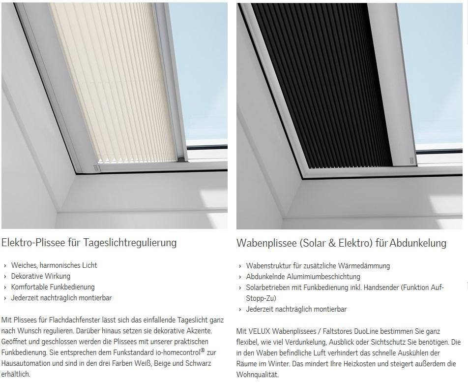 Velux flachdach fenster mit flachglas cfp 0073 oder integra cvp 0673q ebay - Velux fenster einstellen ...