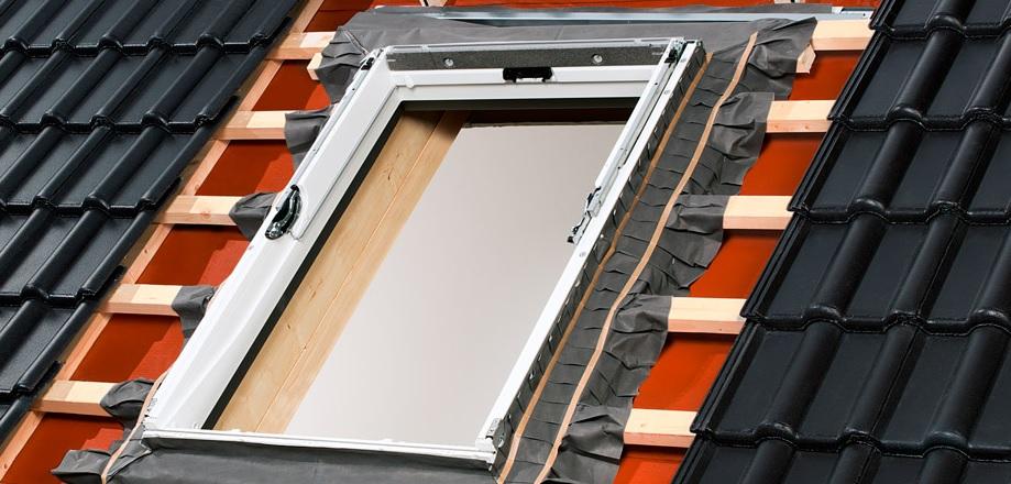 velux dachfenster kunststoff ggu pk08 94x140 set mit. Black Bedroom Furniture Sets. Home Design Ideas