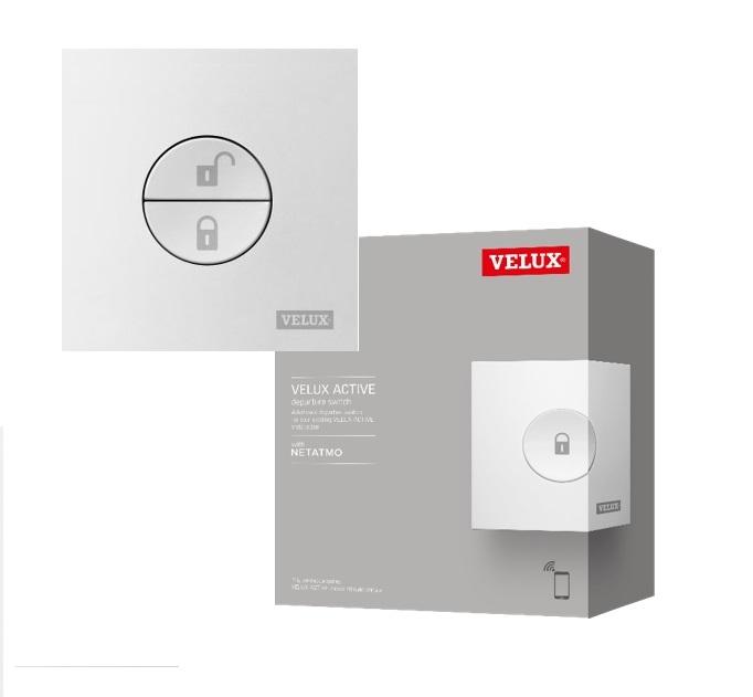 Zusätzlicher VELUX ACTIVE Schalter für Abwesenheit (KLN 300)